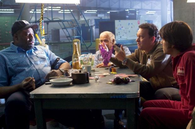 "00/00/0000. Film ""The Terminal"" by U.S director Steven Spielberg with Tom Hanks and Catherine Zeta-Jones"