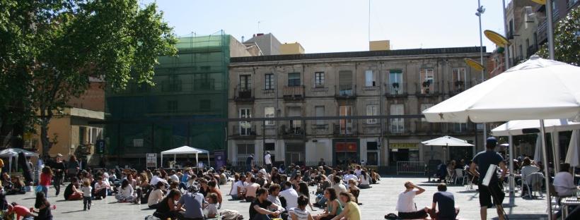 Viaggio in Spagna Plaza del Sol Barcelona