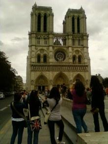 Facciata Notre Dame Cattedrale