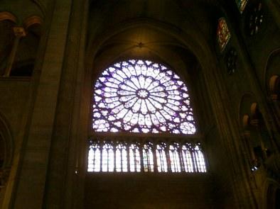 Interno Cattedrale Notre Dame Parigi