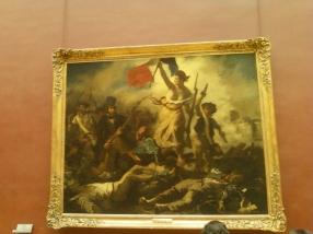 Museo del Louvre Parigi, quadro