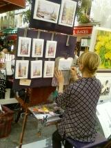 Bancarelle artigiani Parigi