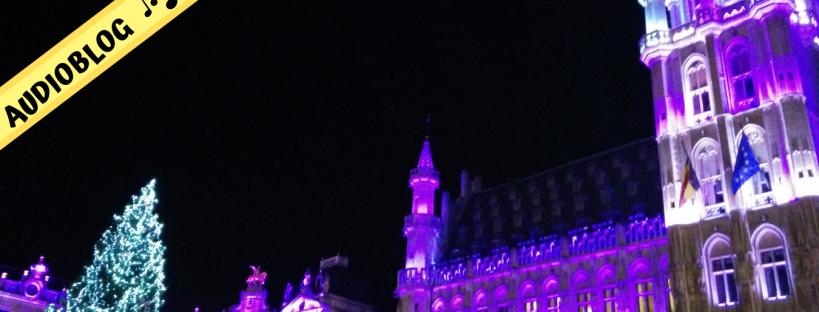 Bruxelles a novembre piazza principale