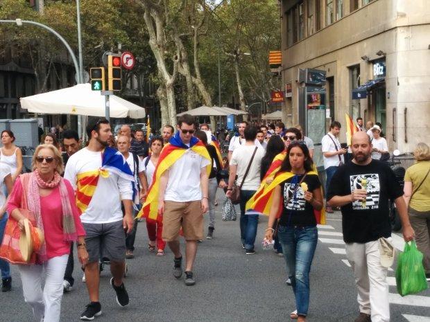 Barcellona festa
