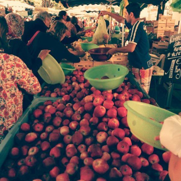 Mercato a Marsiglia