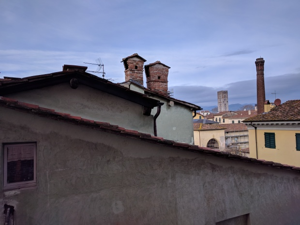 Lucca in inverno