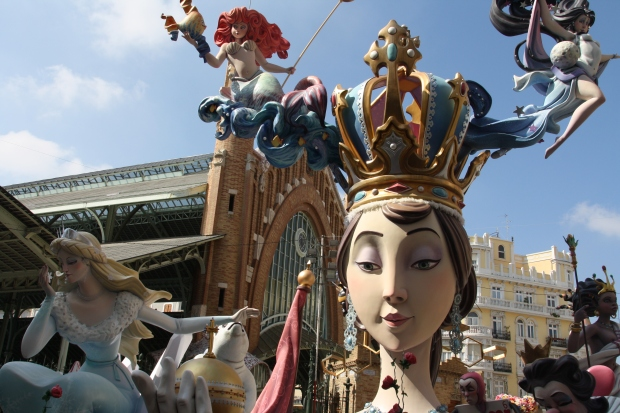 fallas mercado colon Valencia