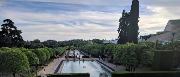 I giardini dell'Alcazar di Cordoba