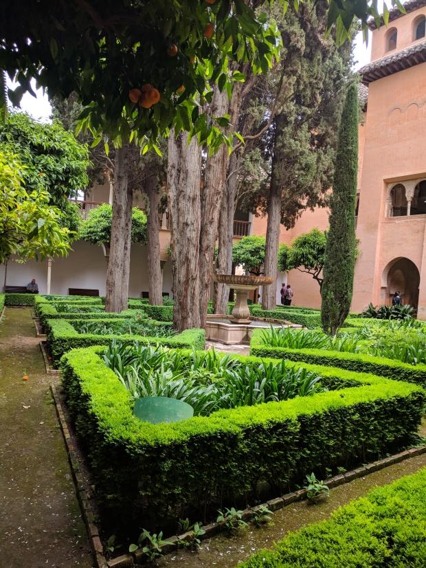Il più bel patio interno dell'Alhambra