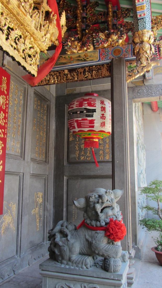 Lanterna spiriti tempio vietnamita