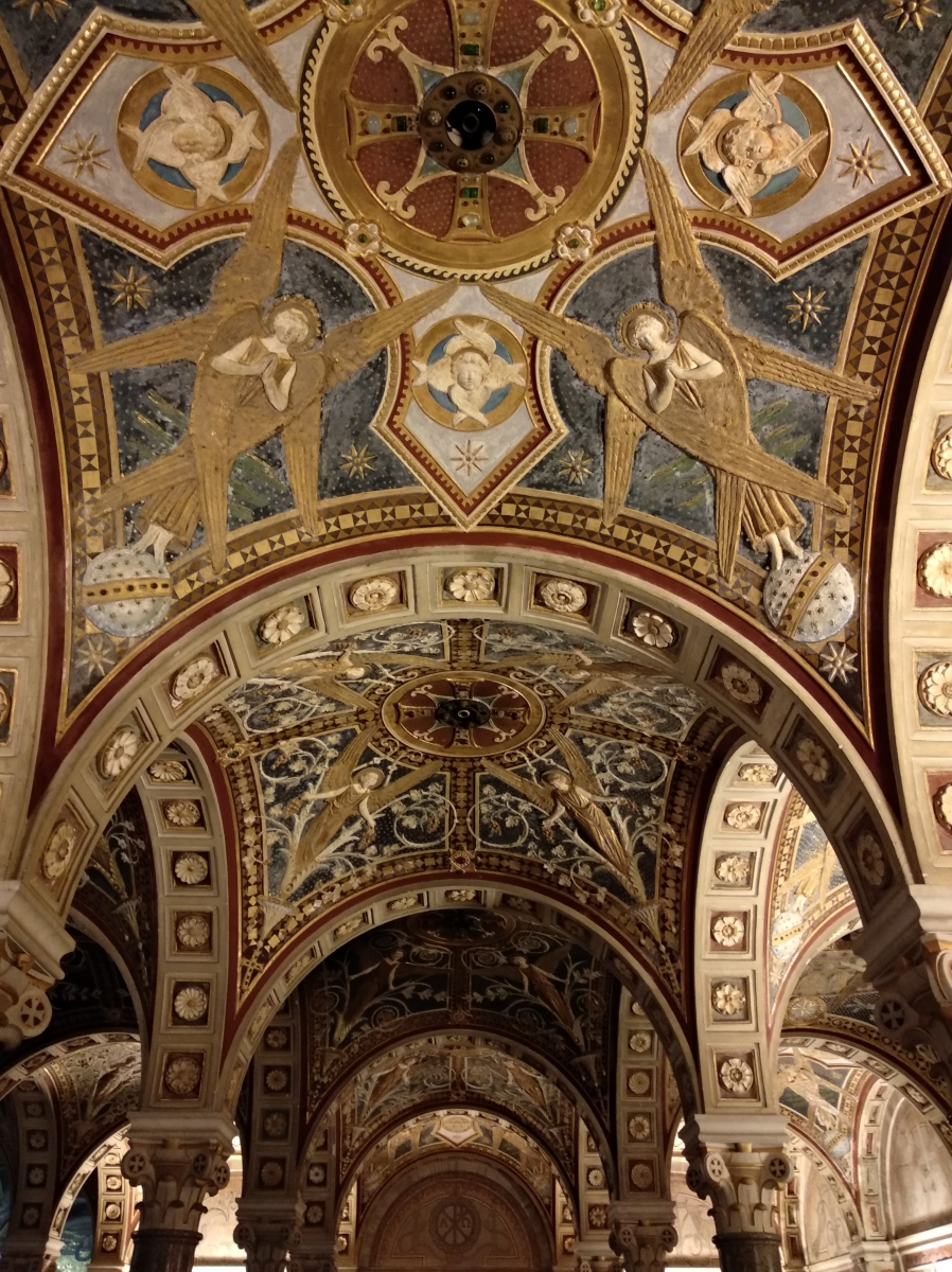 Soffitto Convento Frati Cappuccini ossa Roma
