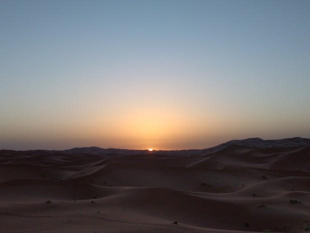 L'alba nel deserto Merzouga
