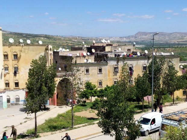 Quartiere fuori dalle mura di Fes
