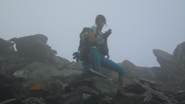 Immersa nella nebbia