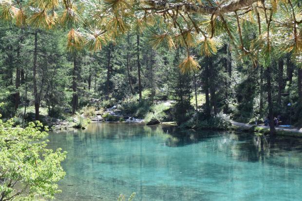 Lago vicino a Le Pellaud
