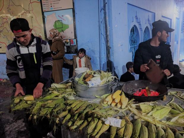 Il vero cibo di strada marocchino