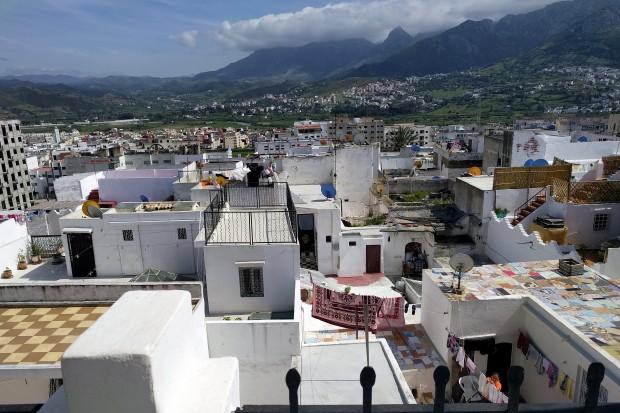 Tetouan vista dall'alto