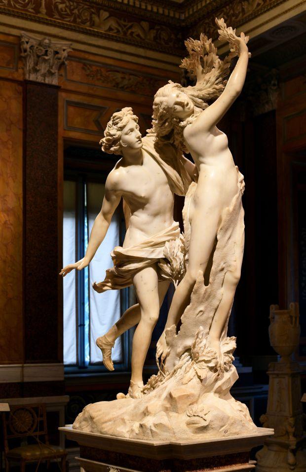 Roma Apollo e Dafne scultura Bernini