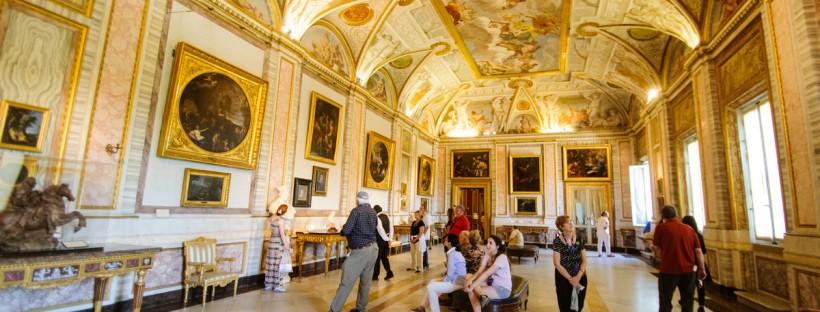 Galleria Borghese Roma, interno sala