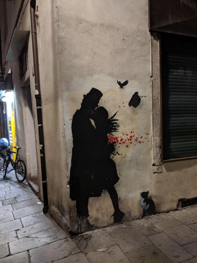 Street art di Kenny Random a Padova