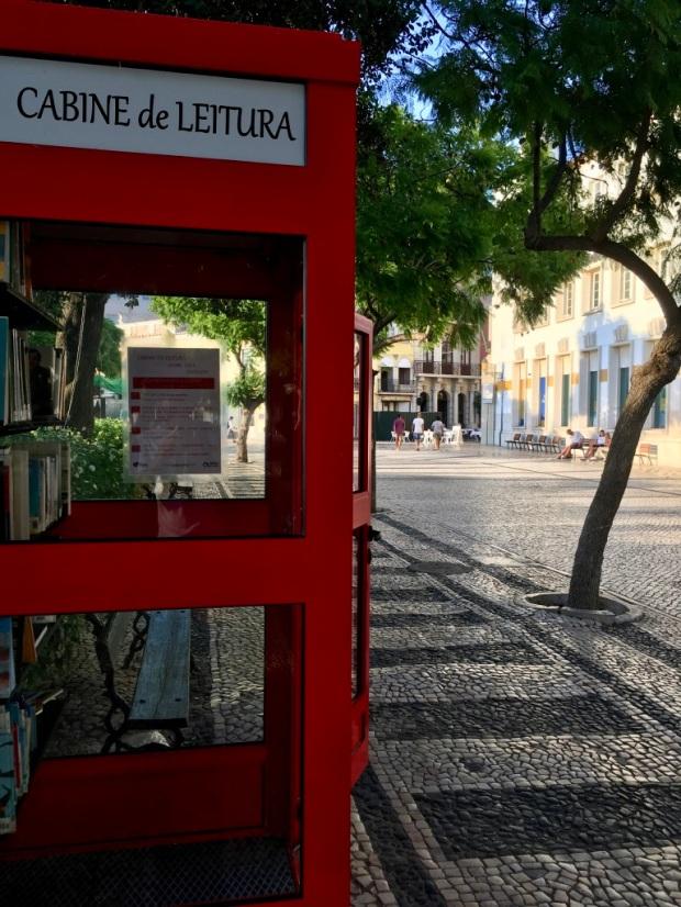 Cabina di lettura a Faro