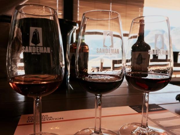 Degustazione di vino Porto