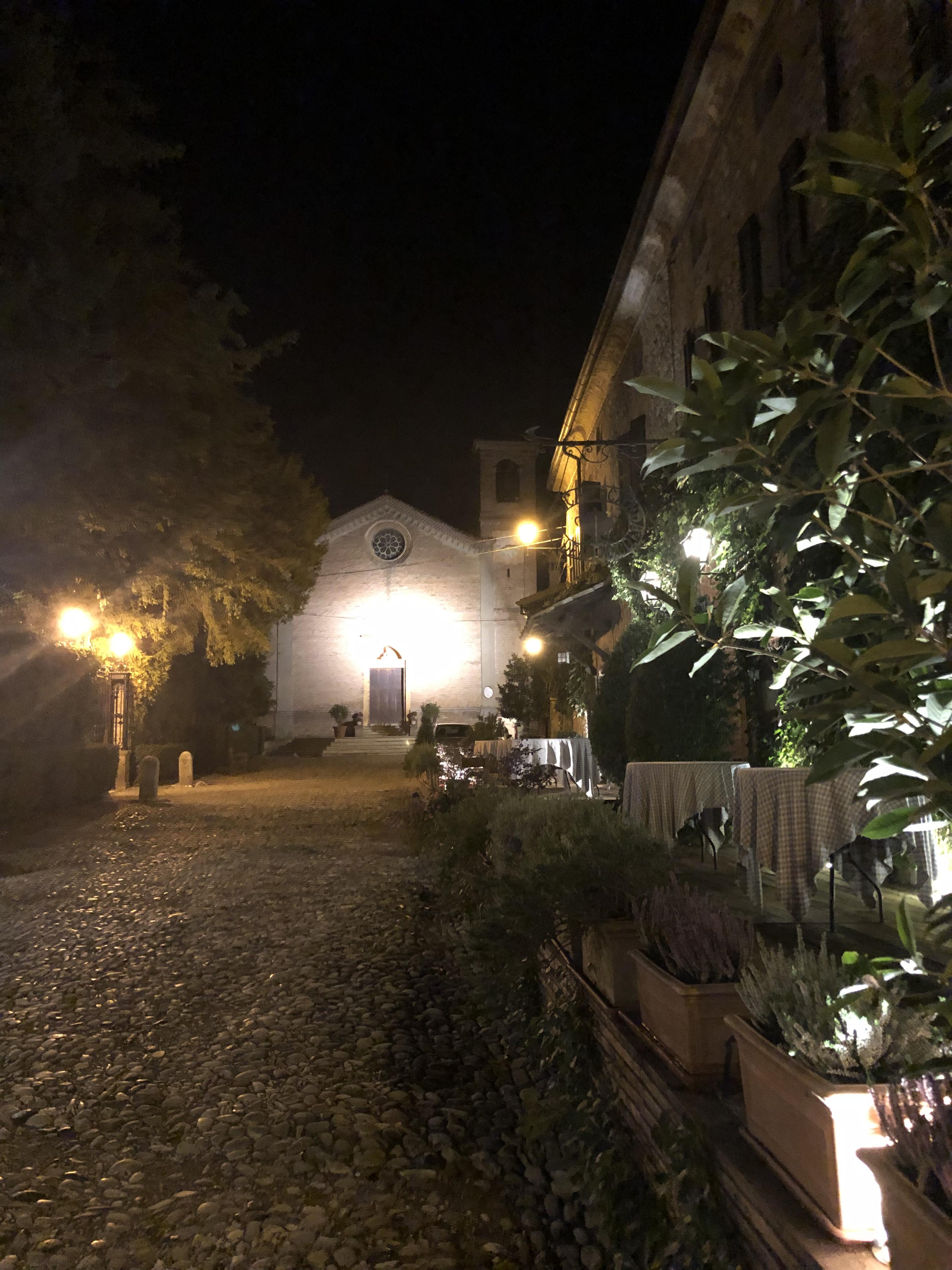 Dehor Locanda del Falco Piacenza