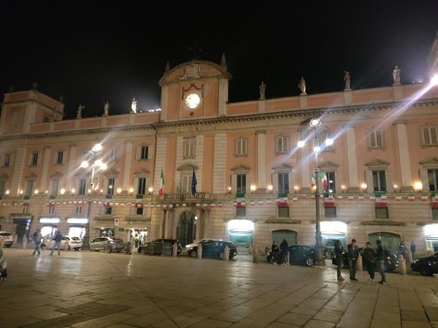 Piacenza di sera