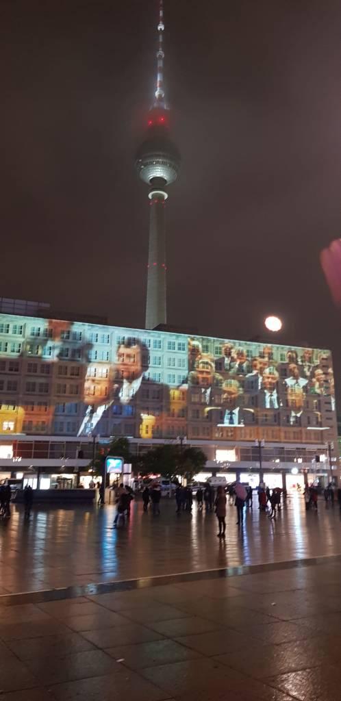 La torre della televisione a Berlino